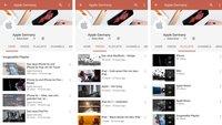 Apple erweitert YouTube-Präsenz um lokalisierte Kanäle, darunter auch Deutschland