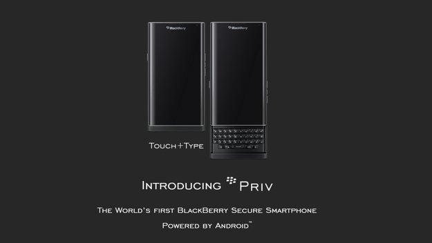 Blackberry Priv: 5,4-Zoll-Display und 3.410 mAh-Akku bestätigt