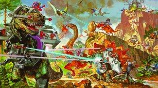 Dino-Riders: Jurassic World kann einpacken - hier kommen die Laser-Dinos!