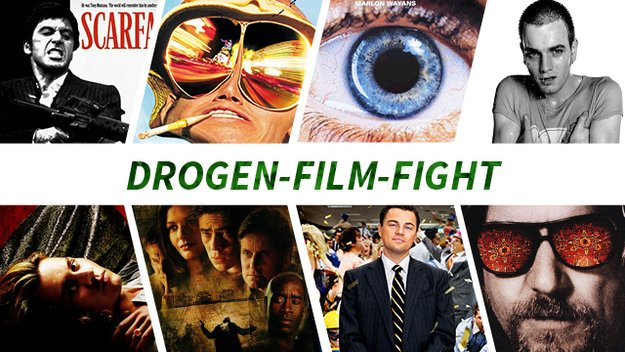 Film-Fight: Diese 8 Drogen-Filme kämpfen um eure Gunst - Der Sieger!