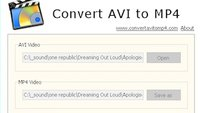 Free AVI to MP4 Converter
