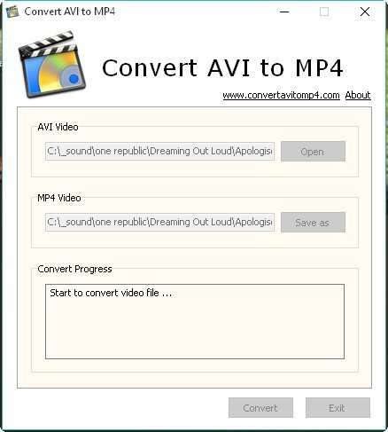 Free-AVI-to-MP4-Converter