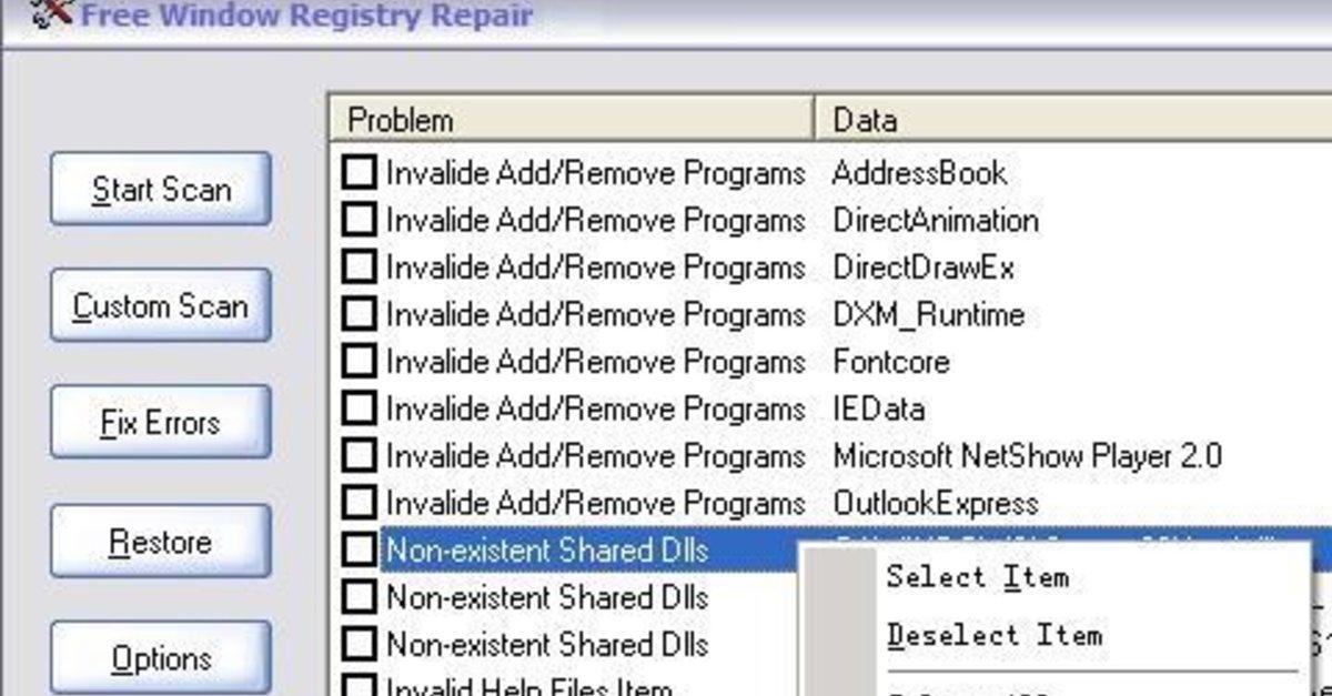 Free window registry repair version 2 5 reviews for Window nation reviews