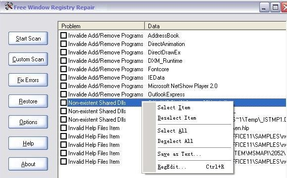 Free-Window-Registry-Repair