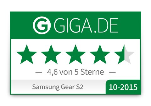 Samsung Gear S2 Wertungs-Badge
