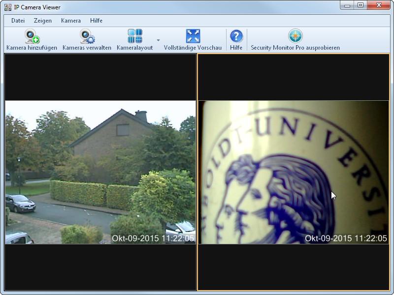 IP Camera Viewer einrichten