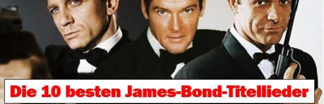 James-Bond-Theme: Die 10 besten Titellieder von 007