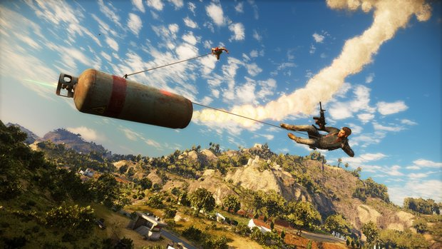 So viel Platz braucht der Day-One-Patch für Just Cause 3!