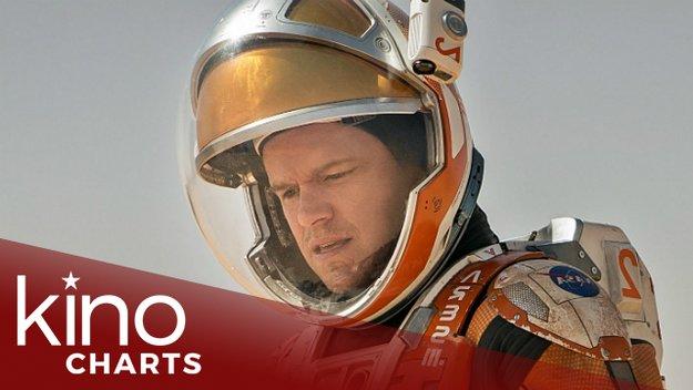 Kinocharts: Alles steht Kopf & Der Marsianer bleiben auf Kurs