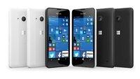 Microsoft Lumia 550: Pressebilder bestätigen Design