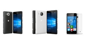 Microsoft Lumia 950 (XL) & Lumia 550 in Hands-On Videos