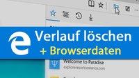 Microsoft Edge: Verlauf und Browserdaten löschen – So geht's