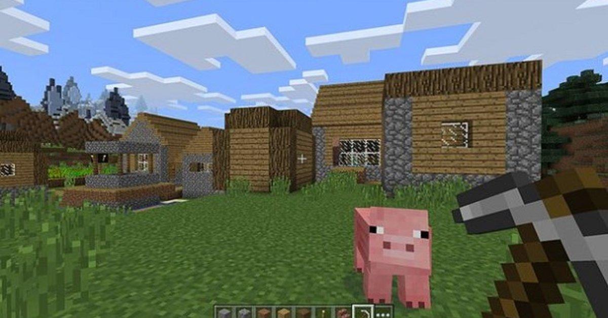 Minecraft: Pferde finden, zähmen & reiten – Sattel craften? – GIGA