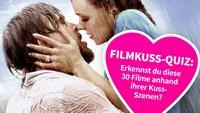 Das Filmkuss-Quiz: Zu welchen Filmen gehören diese 30 berühmten Küsse?