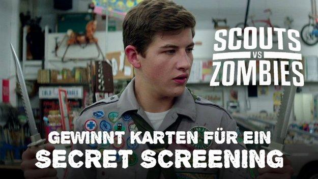 Scouts vs. Zombies: Gewinnt Freikarten für ein Secret Screening zur Zombie-Komödie