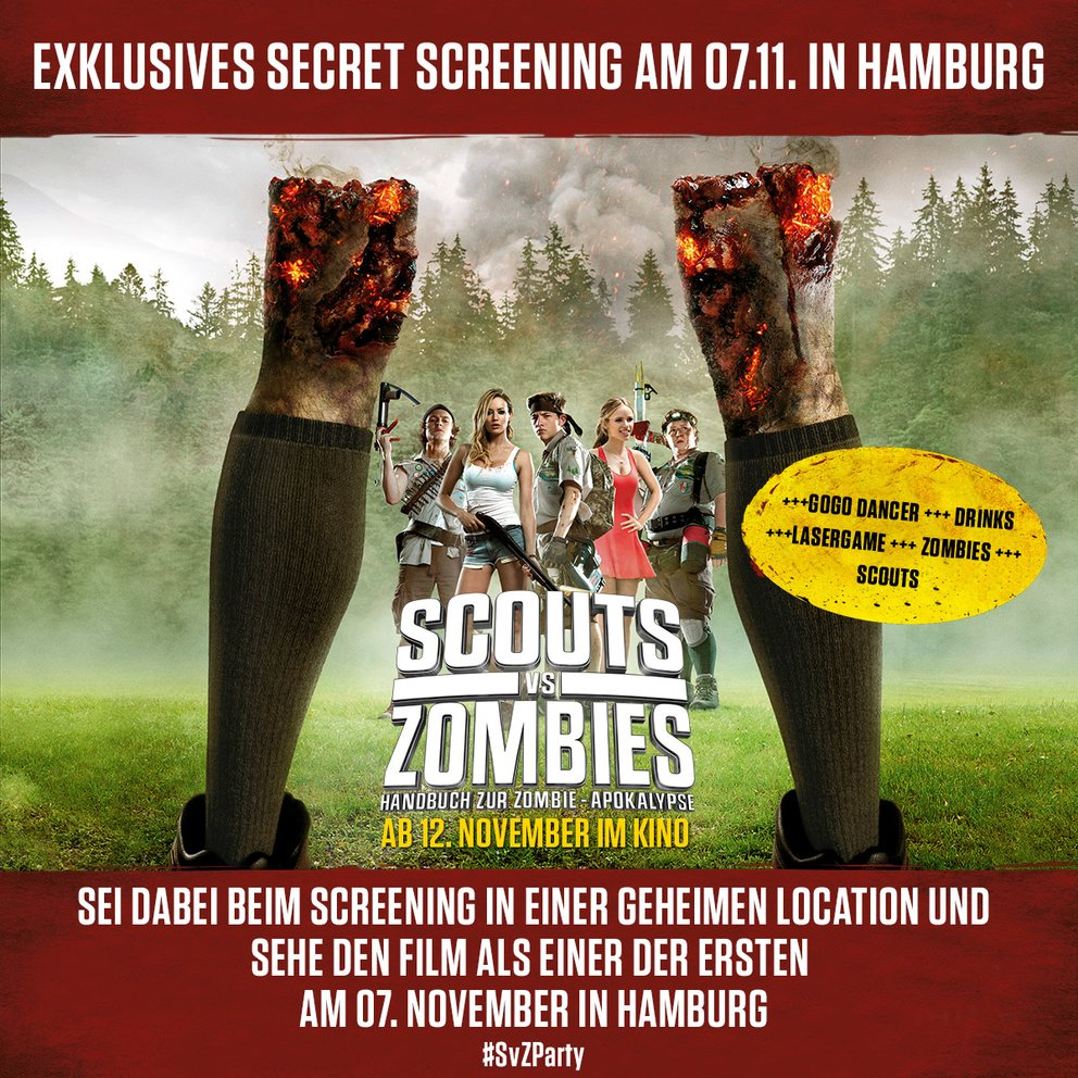 Scouts vs Zombies Screening