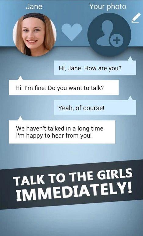 Virtuelle Freundin App
