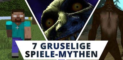 Creepypasta: Diese 7 Spiele-Mythen sind besser als jeder Horror-Film