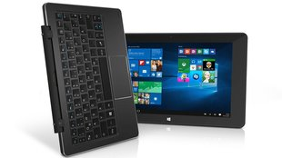 TrekStor SurfTab duo W1: Windows 10 Volks-Tablet mit Tastatur, Stylus & LTE