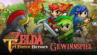 Zelda Tri Force Heroes: Gewinn mit uns 1.500 Codes für die limitierte Demo!