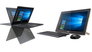 Acer Aspire R14 Convertible & Aspire Z3 All-in-One PC mit Akku vorgestellt