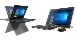 Acer Aspire R14 Convertible & Aspire Z3 All-in-One PC mit Akku vorgestellt