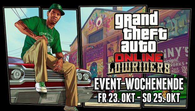 GTA 5: Das bringt das Lowrider-Wochenende