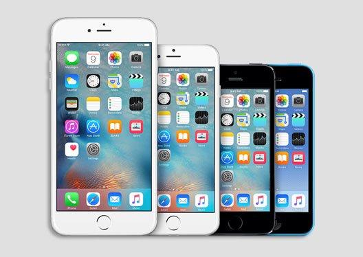 Machen neue iOS-Versionen alte iPhone-Modelle langsamer? Bildquelle: Apple