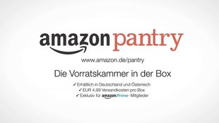 Amazon Pantry in Deutschland: Essen online bestellen