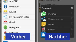 Android: Teilen-Menü anpassen – So geht's