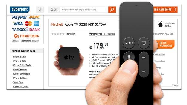 Apple TV 4: Vom Hersteller autorisierter Händler nimmt erste Bestellungen an (Update)