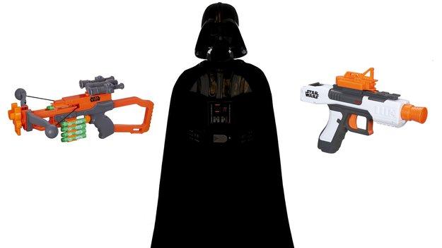 NERF-Guns jetzt im Star Wars Design erhältlich! Bye-Bye, Produktivität!