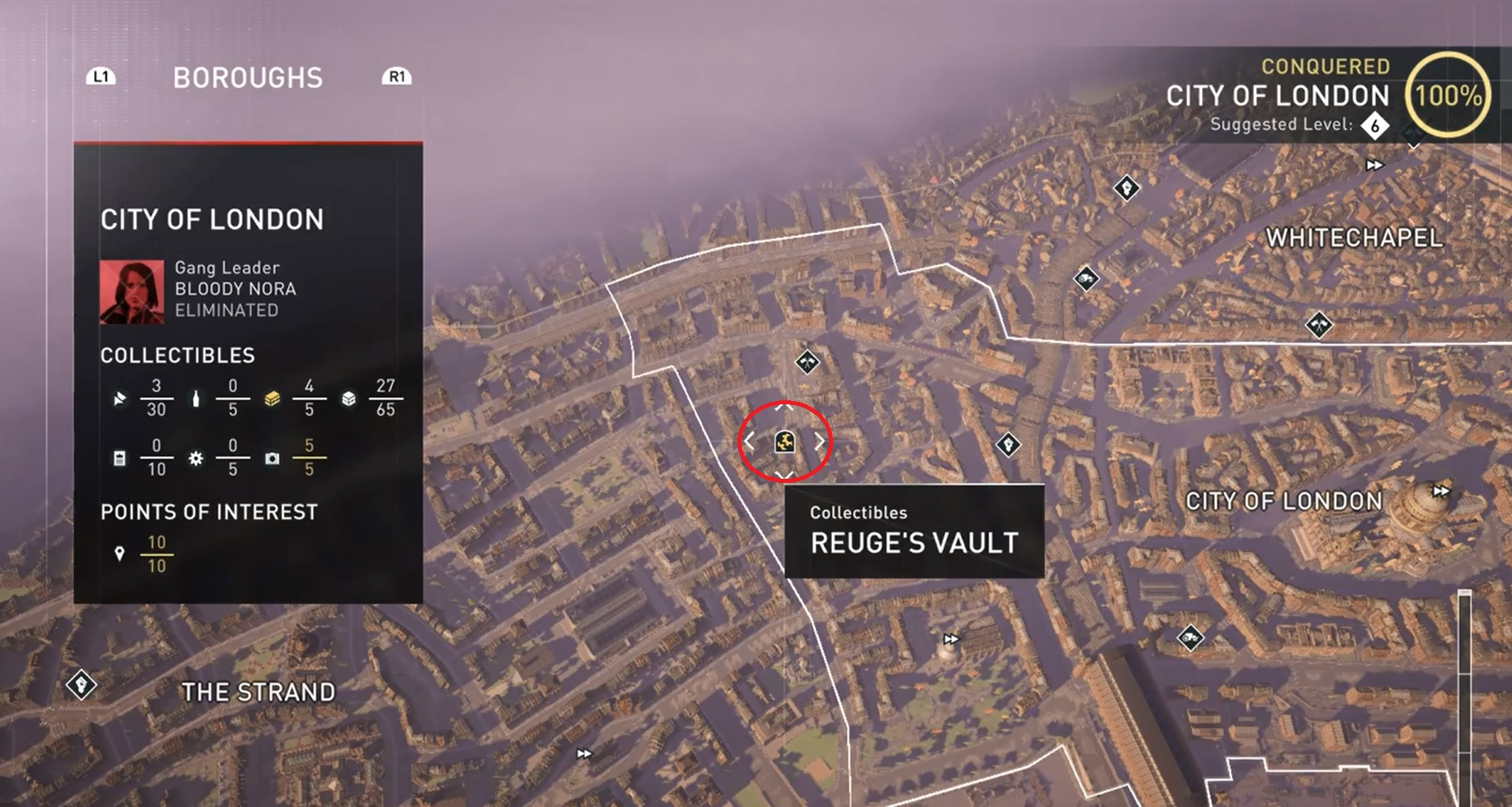 assassins creed syndicate londoner geheimnisse karte Assassin's Creed – Syndicate: Londoner Geheimnisse – Fundorte