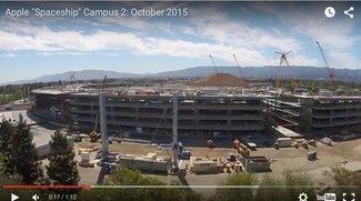 Apple Campus 2: Erste Gebäudeteile erreichen endgültige Höhe