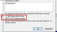 GPT oder MBR: Partitionsstil einer Festplatte herausfinden – so geht's