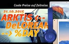Arktis DeLorean %Day:<b> Fette Rabatte auf Macs, iPads und jede Menge Zubehör (nur am 21.10.2015)</b></b>