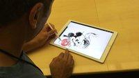 Disney-Künstler mögen das iPad Pro