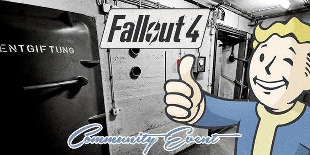 Erlebt Fallout 4 als erste Spieler in ganz Deutschland in einem echten Atom-Bunker!