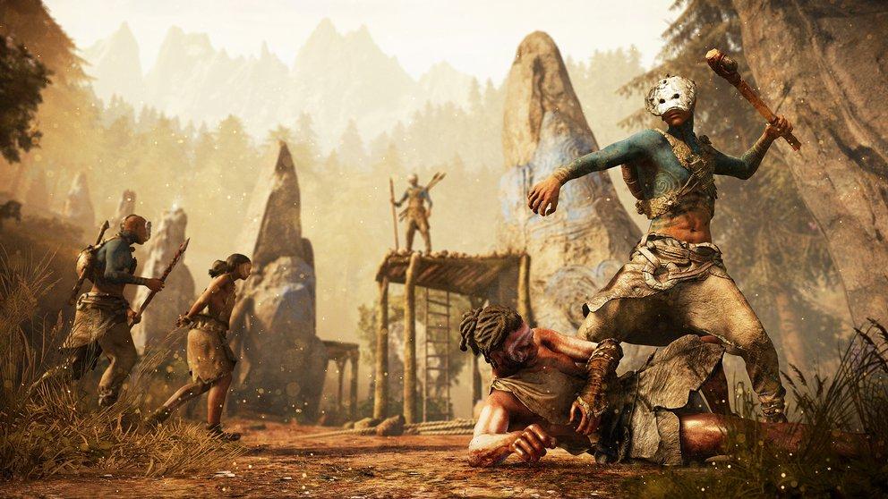 Far Cry Primal: Die Steinzeit ist hart und unerbittlich.