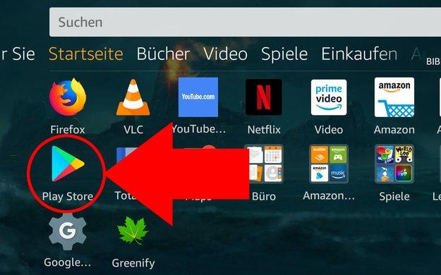 Amazon-Fire-Tablet: Play Store installieren – so geht's trotzdem
