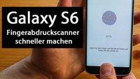 Samsung Galaxy S6: Fingerabdruckscanner schneller machen – so geht's