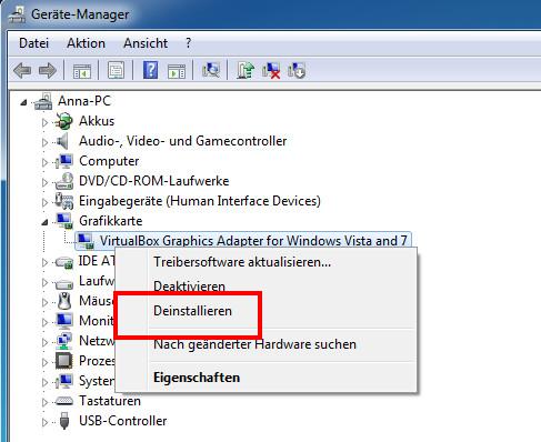 Amd grafikkarte wird nicht erkannt windows 7