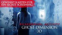 Gewinnt Freikarten für ein Secret Screening zu Paranormal Activity 5