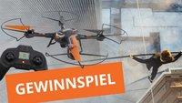 Gewinnt eine Kamera-Drohne von XciteRC zum Kinostart von The Walk