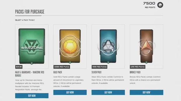Halo 5: Kostenlose REQ-Packs - auf diesen Wegen bekommt ihr sie
