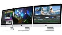 Neue iMacs um bis zu 26 Prozent schneller als ihre Vorgänger