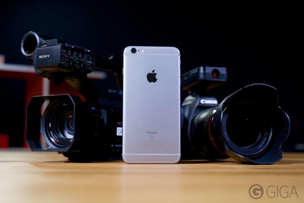 iPhone 6s Plus mit 4K-Videoaunfahme