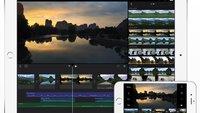 iMovie: Update ermöglicht 4K-Videobearbeitung auf dem iPad Air 2