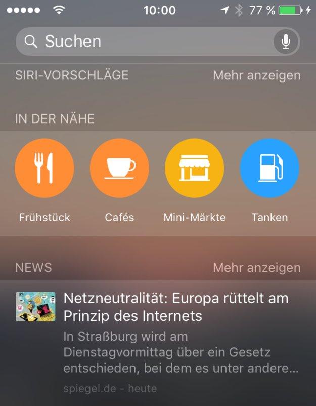 """iOS 9: """"In meiner Nähe""""-Funktion jetzt auch in Deutschland –Bielefeld und Basel als 3D-Städte"""