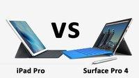 Surface Pro 4 vs. iPad Pro – Daten im Vergleich
